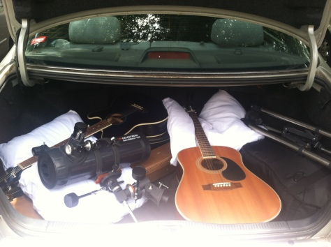 guitars trunk